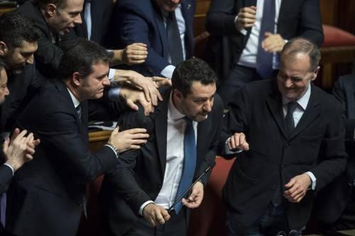 Caso Gregoretti, Salvini parla al Senato 2