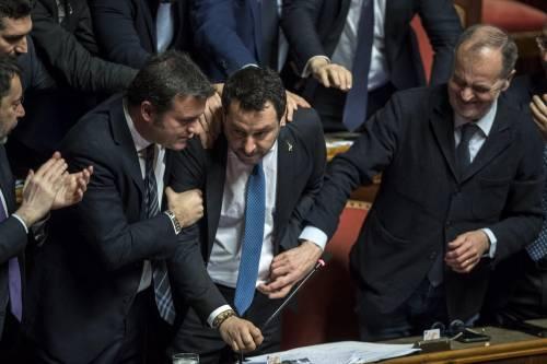 Caso Gregoretti, Salvini parla al Senato 6