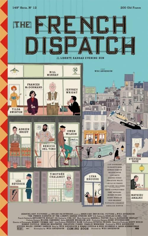 The French Dispatch, Wes Anderson dedica un film al giornalismo