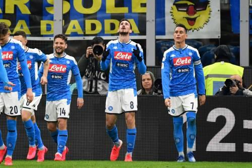 Coppa Italia, il Napoli beffa 1-0 l'Inter nell'andata delle semifinali