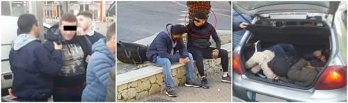 Traffico di migranti al confine: 200 euro per entrare in Francia