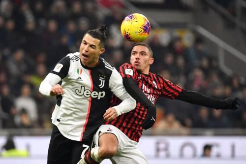 Coppa Italia, la Juventus beffa il Milan al 90': finisce 1-1 al Meazza