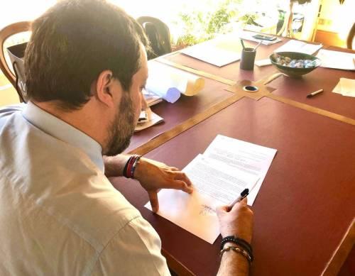 """Coronavirus, Salvini a Conte: """"Ecco le proposte della Lega"""""""