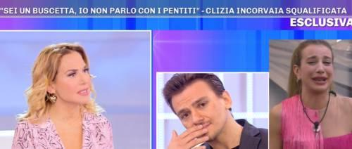 """Clizia Incorvaia squalificata dal Gf vip, parla il fratello Mattia: """"Accade in momenti di rabbia"""""""