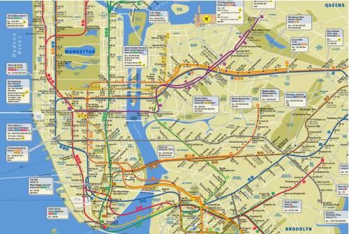 New York, morto il grafico della mappa metropolitana più famosa al mondo