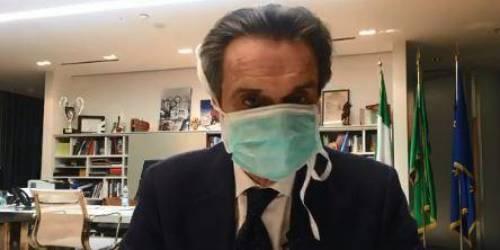 Il governatore Fontana si mette in quarantena