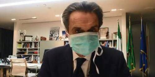 """Fontana: """"Una mia collaboratrice positiva al Coronavirus. Mi metto in isolamento"""""""
