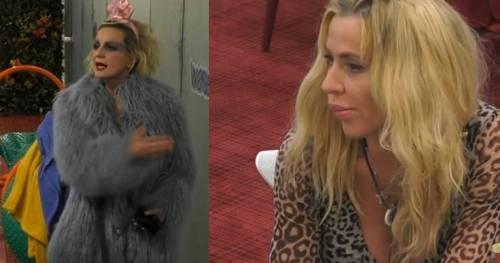 """Scontro tra Valeria Marini e la Elia, Antonella sbotta: """"Io la prendo a calci in cu.."""""""