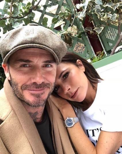 David e Victoria Beckham costruiscono un tunnel sotto casa per paura di essere rapinati
