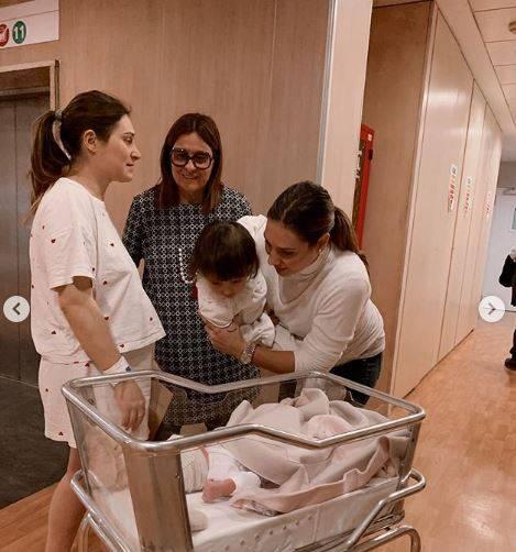 È nata Ludovica Allegra: la famiglia Valli si allarga