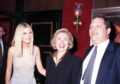 Hillary Clinton è il politico che ha ricevuto più soldi da Weinstein