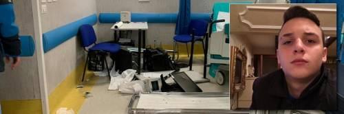 """Il papà del 15enne ucciso a Napoli devasta l'ospedale: """"Voglio giustizia"""""""
