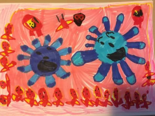 Le 8 regole dell'Unicef per spiegare il virus ai bimbi