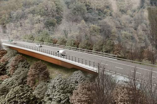 La frana sulla A6 si muove, chiuso il viadotto sulla Torino-Savona