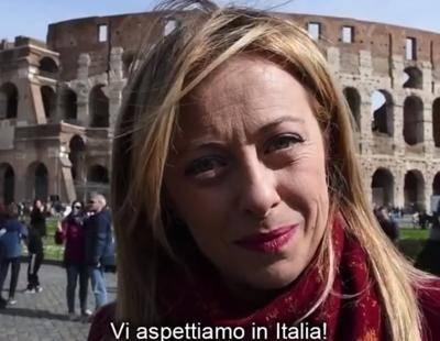 """Coronavirus, il video della Meloni: """"Turisti, venite in Italia"""""""