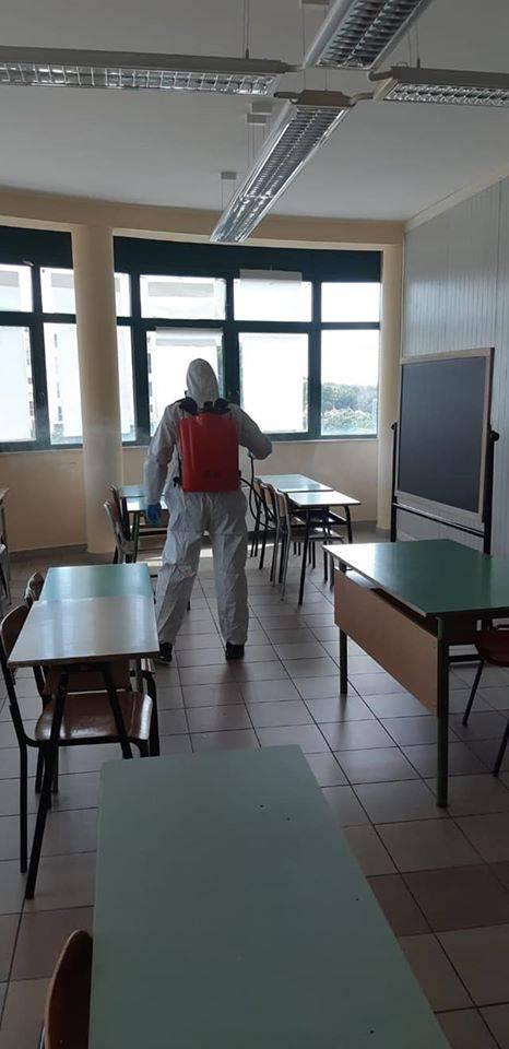 Puglia, la sanificazione degli istituti scolastici 2