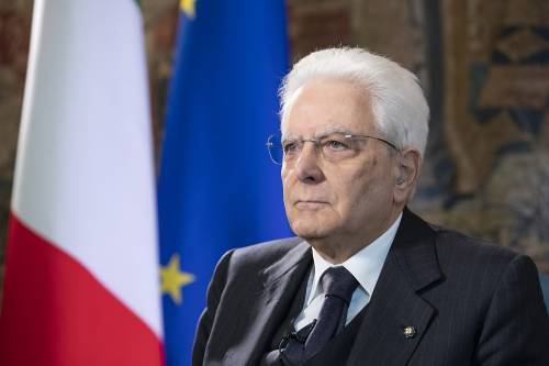 La Liberazione di Mattarella: leader anti virus solitario