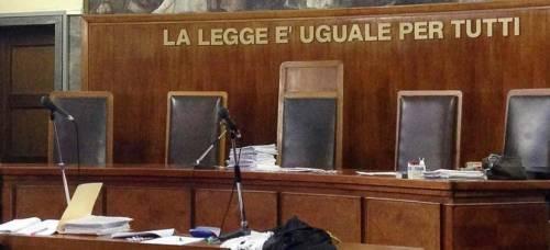 Al tribunale l'udienza è online: giudici e avvocati collegati da remoto