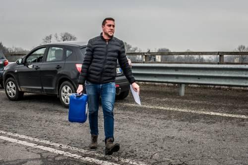Emergenza coronavirus, scambio di beni al checkpoint di Codogno  2