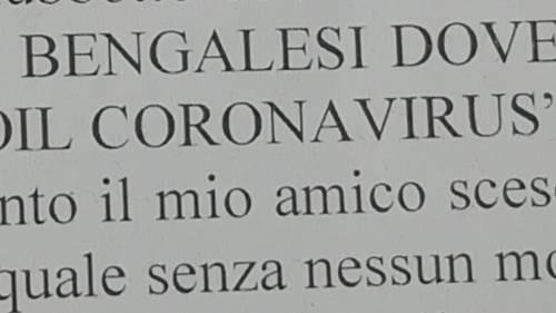 """""""Avete il coronavirus"""". Branco di ragazzini aggredisce bengalesi"""