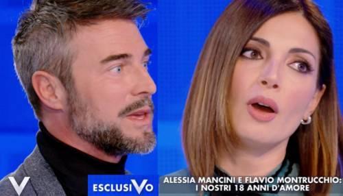 Alessia Mancini e Flavio Montrucchio hanno perso un figlio