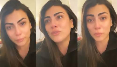 """Giulia Salemi si dispera per il Coronavirus: """"Sono sola a Milano"""""""