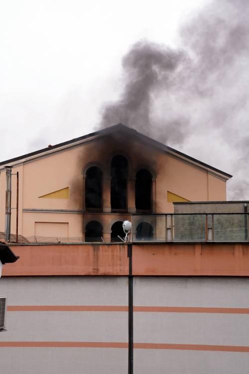 San Vittore, i detenuti in rivolta 3