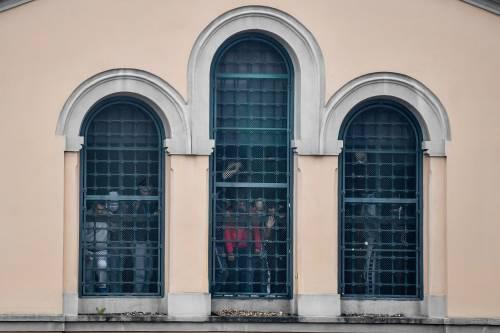 San Vittore, i detenuti in rivolta 4