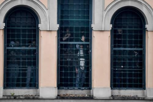 San Vittore, i detenuti in rivolta 7