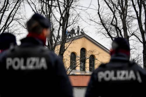 San Vittore, i detenuti in rivolta 11