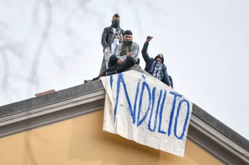 San Vittore, i detenuti in rivolta 15