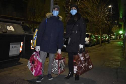 Coronavirus, l'assalto notturno ai supermercati  9