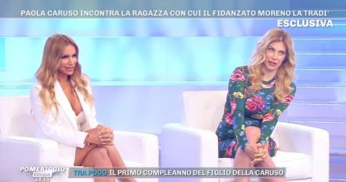 """Veronica Graf ammette: """"Ho dormito con Moreno quando stava con la Caruso"""""""