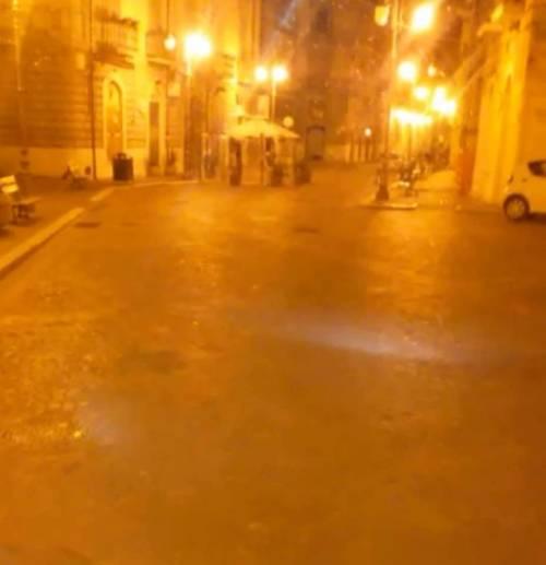 Foggia, le immagini della sanificazione delle strade 4
