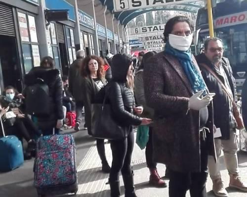 """La vergognosa fuga di massa: """"Qui a Roma non ci controllano"""""""