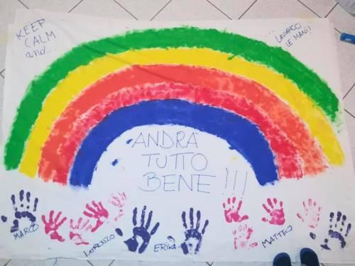 I bimbi italiani disegnano la speranza