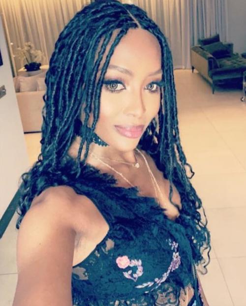 Naomi Campbell, i selfie su Instagram 6