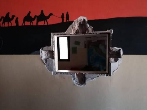 Modena e Bologna, le carceri devastate e le minacce sui muri 11