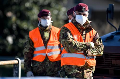 Migranti, cento militari dell'esercito schierati sul confine tra Italia e Slovenia