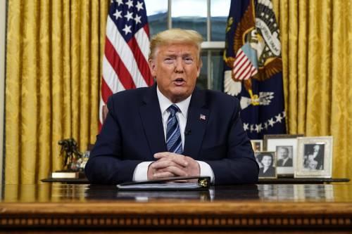 Trump darà mille dollari ad ogni contagiato
