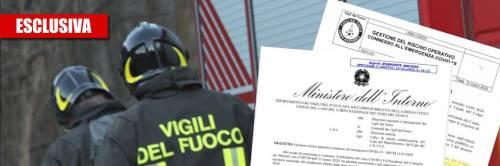"""Vigili del fuoco a rischio contagio: """"Non abbiamo le mascherine"""""""
