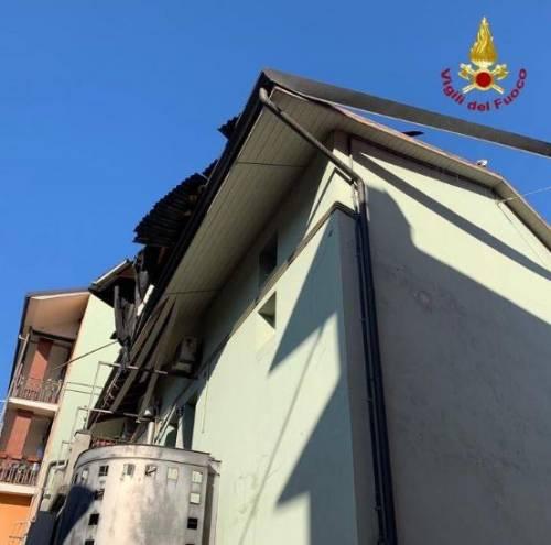 Esplosione in palazzina a Seriate 3