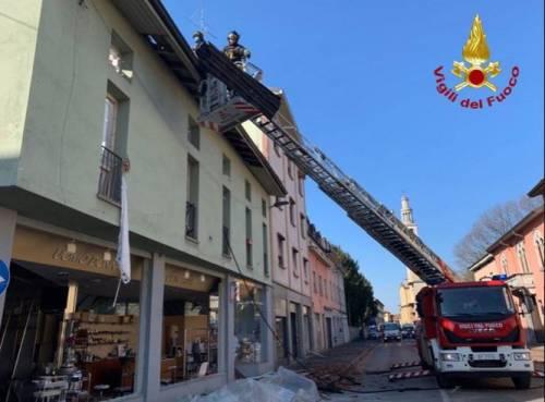 Esplosione in palazzina a Seriate 6