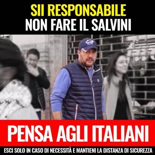 """Coronavirus, M5s all'attacco di Salvini: """"Non fare come lui, sii responsabile"""""""