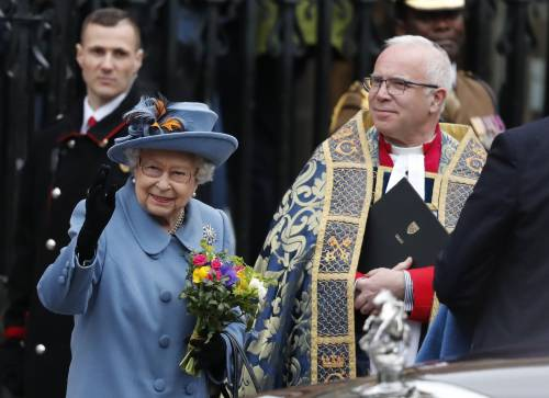 La Regina Elisabetta II al Commonwealth Day, foto 2