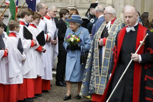 La Regina Elisabetta II al Commonwealth Day, foto 9