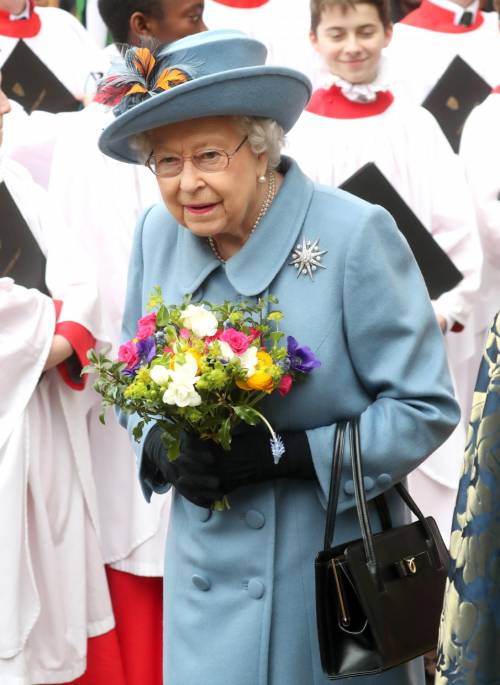La Regina Elisabetta II al Commonwealth Day, foto 1