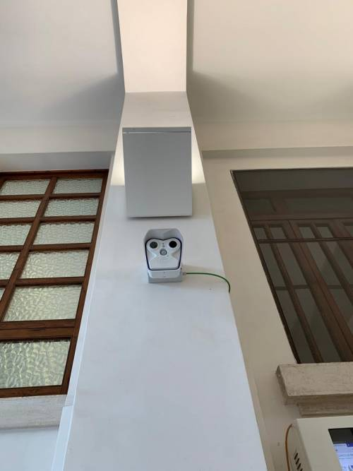 Bari, il termoscanner all'ingresso del policlinico 3
