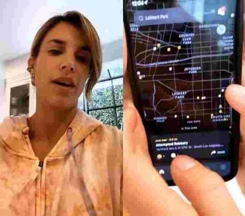 """Elisabetta Canalis spaventata: """"Oltre al coronavirus crimini in aumento a Los Angeles"""""""
