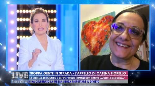 """Catena Fiorello: """"Sono stata aggredita da un uomo al supermercato"""""""